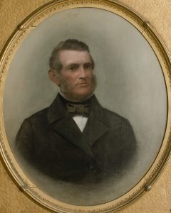 Portrait of Governor Charles Smith Olden, who built Drumthwacket in 1835